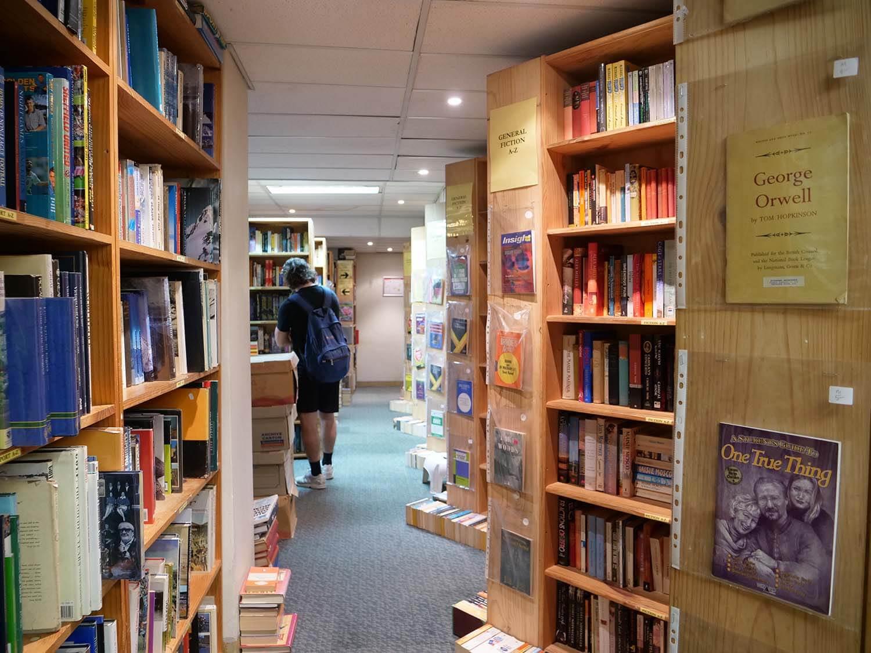 CityBasementBooks 本棚