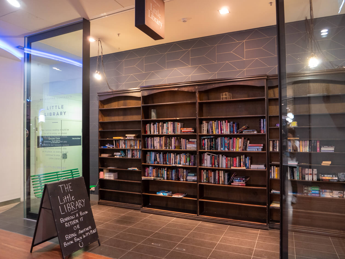メルボルン リトル図書館